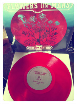 Flowers On Mars Vinyl Record