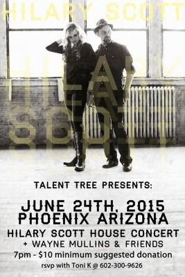 Talent Tree Phoenix House Concert