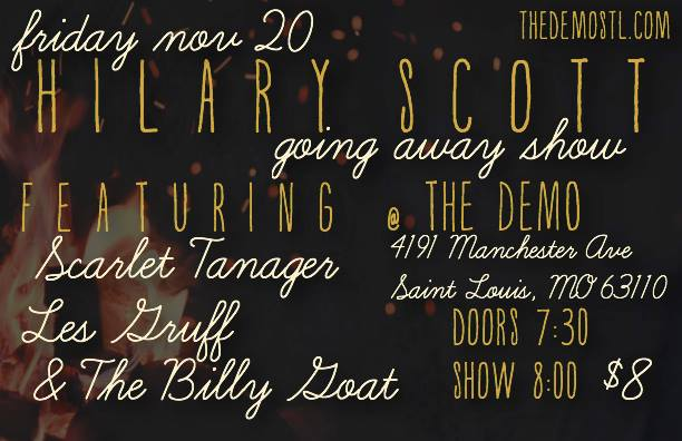 Saint Louis Going Away Show