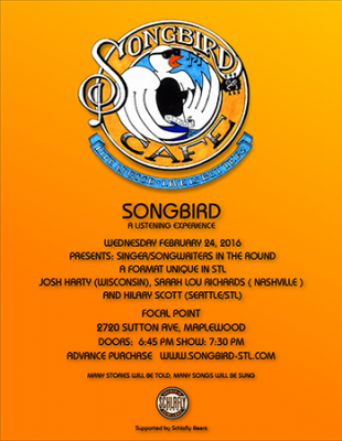 Songbird Cafe-poster