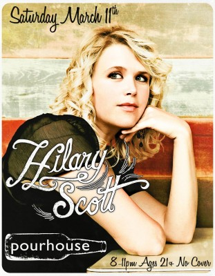 Hilary Scott at Pourhouse